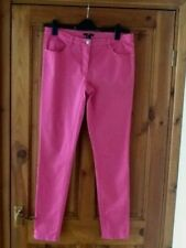 h&m pink casual trousers size 12( eu 40)