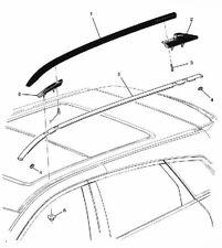 15947580 Rail Luggage Carrier Black Driver Side 2010-2016 Cadillac SRX