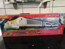 HORNBY DIGITAL EUROSTAR TRAIN SET - R1071 -
