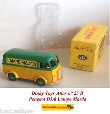 Dinky Toys Atlas n° 25 B Peugeot D3A Lampe Mazda