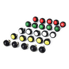 6Pcs PBS-33B Mini 12mm Waterproof Momentary ON/OFF Push Button Round Switch Pd
