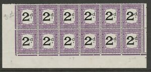South Africa 1914-22 2d Postage due with varieties SG D3a Mint.