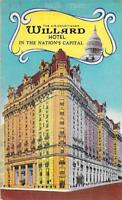 willard hotel washington dc nation's capital photo picture postcard