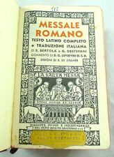 LIBRO RELIGIONE PREGHIERE MESSALE TASCABILE  QUOTIDIANO LEFEBVRE 1959 TORINO