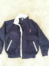 EUC ANGELS Exclusive Stadium Collection Men's Jacket Size Small- Navy Blue