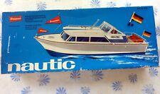 Boîte de BATEAU vintage VIDE - GRAUPNER Baukasten NAUTIC 2121 LEERE BOX