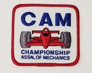 Very Rare New Old Stock Championship Association of Mechanics Patch IndyCar