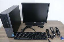 Dell Optiplex 790 Desktop PC 250GB Intel Core 3.3GHz Win 10 Monitor Bundle