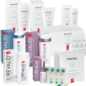 Revalid Hair Loss Anti-Dandruff Shampoo Conditioner Tonic Serum Mask Capsules