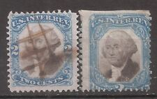 US   Sc# R104-105   Used/Cut Cancel   Cat Val $ 37+