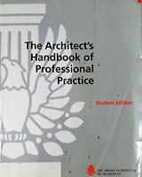 Architect's Handbook of Professional Practice by Haviland, David Book The Fast