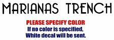 Marianas Trench Band Rock JDM Vinyl Decal Car Sticker Window bumper Laptop 8""