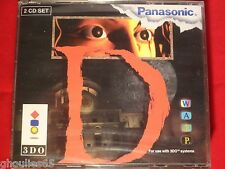 D 3DO PANASONIC NEUF BLISTER D 3 DO GOLDSTAR NEUF GERMAN BLISTER