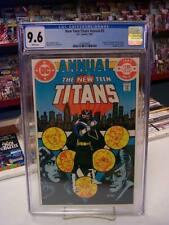 NEW TEEN TITANS ANNUAL #2 (DC, 1983) CGC Graded 9.6 ~VIGILANTE ~White Pages