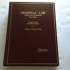 Criminal Law: Cases and Materials (American Casebook Series)