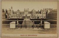 Château Da Fontainebleau Francia Foto Dontenvill P15Ln37 Vintage Albumina