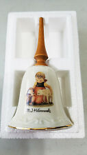 "Nos New Mi Mj Hummel Bells Collection Vintage ""Favorite Pet"" Bell with Coa"