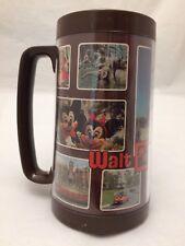 Vintage Walt Disney World Thermo-Serv Plastic  Large Mug Cup Stein