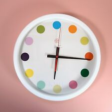 NEW Damien Hirst Spot Clock Large Face 35CM Rare Art Other Criteria Wall Clock