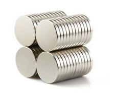 Neodimio imanes 15 x 2 mm Super imán alta fuerza adherencia imán discos n35 100 trozo