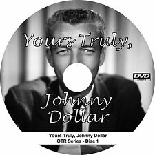 Yours Truly, Johnny Dollar (720 Episodes) OTR Radio Show - MP3 Audio 2-DVD Set