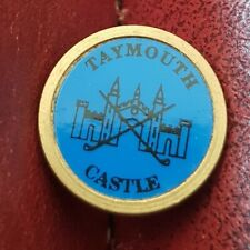 New listing Taymouth Castle Golf Club Ball Marker (Vintage Brass)