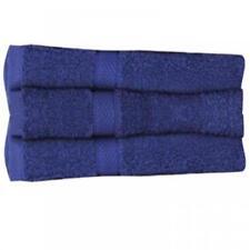 Juego de toallas de baño y albornoces color principal azul 100% algodón