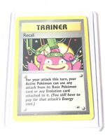 RECALL - Gym Heroes Set - 116/132 - Uncommon - Pokemon Card - NM