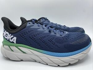 Hoka One One Mens Clifton 7 Moonlit Ocean/Anthracite Running Shoes Size 11 Med