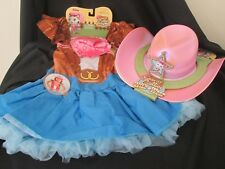 Disney Junior - SHERIFF CALLIE Dress Up   Costume Size 4-6   Cowgirl Hat 1825bc128d86