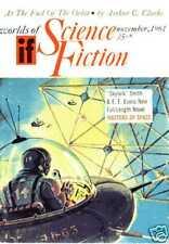 WORLDS OF IF 11.1961 A.C. Clarke Doc E.E. Smith Sturgeon Laumer...
