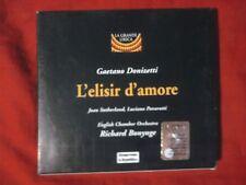 DONIZETTI G. - L'ELISIR D'AMORE (L. PAVAROTTI). CD.