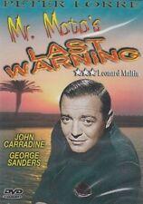 Mr. Motos Last Warning DVD