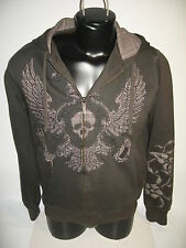 #5413 MARC ECKO LS SWEATSHIRT HOODIE MEN'S SMALL EXC. USED