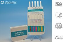 5 Pack 10 Panel Drug Testing Kits - Home Drug Tests for 10 Drugs - Free Shipping