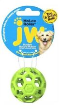 JW Holee Roller Tough Natural Rubber Durable Dog Tug Treat Ball Mini