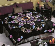 California Nites Lockwood Applique King Quilt Pattern