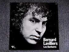 BERNARD LAVILLIERS - Les barbares - LP / 33T