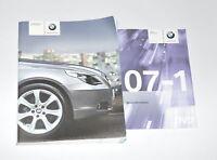 Bordmappe Bordbuch Betriebsanleitung Bedienungsanleitung  01400158162 E60 520I
