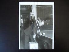 1922 Willie Hoppe Billiards Original Photograph (Rare!) >>>