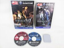 BIOHAZARD Resident Evil 0 ZERO with MEMORY CARD Game Cube Nintendo JAPAN Game gc