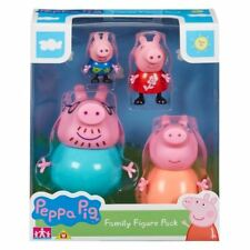 Peppa Pig ~ Family figuras 4 Pack ~ Inc Mummy, Daddy, Peppa, George