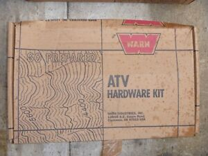 NEW OEM Warn #63942 Yamaha Bruin Grizzly Kodiak ABA-5ND69-40-01 Winch Mount Kit