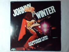 JOHNNY WINTER Captured live! lp USA BOB DYLAN BEATLES