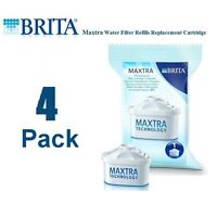 4 PACK BRITA Maxtra Water Filter Refills Replacement Cartridge Marella Genuine