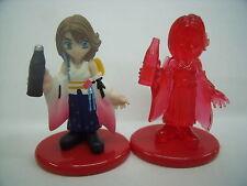 Final Fantasy  Figure Color & Crystal set (YUNA) Rare from Japan F/S