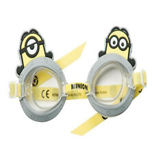 Minions 3D Character Swimming Goggles Unisex Kids Water Fun Swimming Acessory 3+