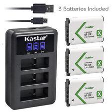 NP-BX1 Battery & Charger for Sony Cyber-shot DSC-HX50V HX60 HX60V HX80 HX90 RX1