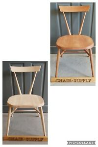 Brand New Solid Beech Wood Stacking Dining Chairs