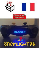 stickers final fantasy xv 15  lightbar manette ps4 led controller